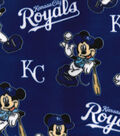 Kansas City Royals Fleece Fabric-Mickey