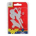 Character World DC Comics Dies & Face Stamp-Fierce Wonder Woman