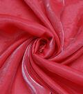 The Witching Hour Halloween Metallic Shine Fabric 58\u0022-Red