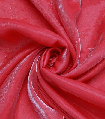 "The Witching Hour Halloween Metallic Shine Fabric 58""-Red"