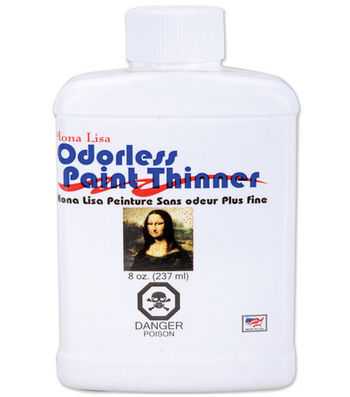 Mona Lisa 8 oz. Odorless Paint Thinner