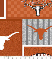 University of Texas Longhorns Fleece Fabric-College Patch, , hi-res