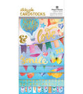 Paper House Color Washed StickyPix Cardstock Stickers with Foil Accents