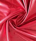 Halloween Metallic Polyester Spandex Fabric 59\u0027\u0027-Red