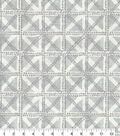Waverly Multi-Purpose Decor Fabric 54\u0022-Squared Away Fossil