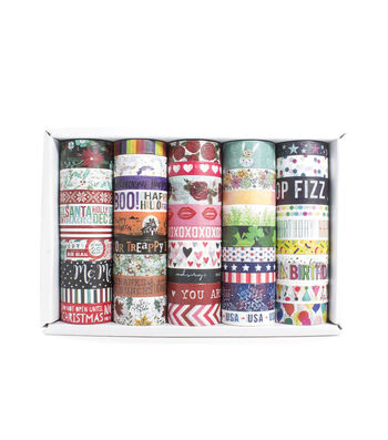 Park Lane 45 pk Washi Tapes-Seasons