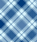 Snuggle Flannel Fabric 42\u0022-Annie Plaid Light Aqua