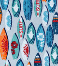 Snuggle Flannel Fabric -Surfboards