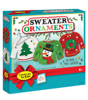 Creativity for Kids Sweater Ornaments, , hi-res