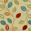 Waverly Multi-Purpose Decor Fabric 52\u0022-Leaflet Emb/Flaxseed
