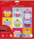 Creativity For Kids-Paint By Number Kit 9\u0022X9\u0022-Cupcake Pop Art