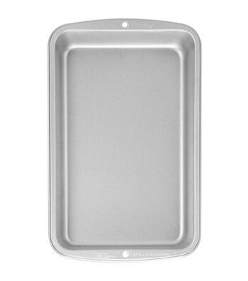 """Wilton Recipe Right Biscuit/Brownie Pan 11""""X7""""-"""