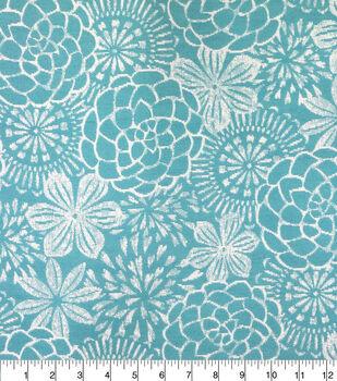 Outdoor Fabric-Jacquard Teal