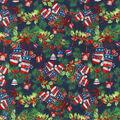 Christmas Cotton Fabric-All American Christmas