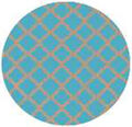 Standard Baking Cups-Unbleached Turquoise Quatrefoil 75/Pkg