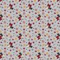 Disney Knit Fabric-Minnie Floral Toss