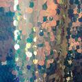 Let\u0027s Pretend Sequined Mesh Fabric-Mermaid