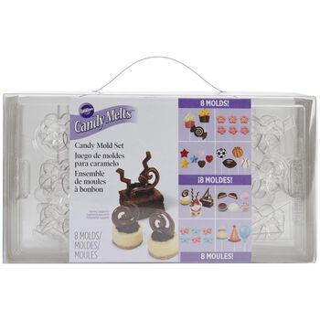 Wilton Candy Mold Party Pack-Makes 8