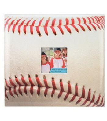 "Baseball 12""x12"" Postbound Album"