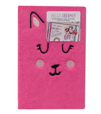 American Crafts Hello Dreamer Furry Notebook