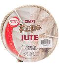 Pepperell Braiding Company 0.5\u0027\u0027x50\u0027 Craft Jute Rope-Natural