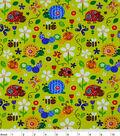 Snuggle Flannel Fabric -Print Nature Friends