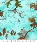 Realtree Flannel Fabric 42\u0022-Seaglass