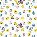 Easter Peanuts Friends Cotton Fabric