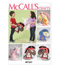 McCall Pattern M7337-OSZ Playtime Ponies and Unicorn-One Size Only