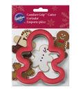 Wilton Large Gingerbread Man Comfort-Grip Cookie Cutter