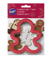 Wilton Large Gingerbread Man Comfort-Grip Cookie Cutter, , hi-res