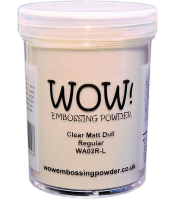 WOW! EMbossing Powder Large Jar 160ml-Clear Gloss Ultra High