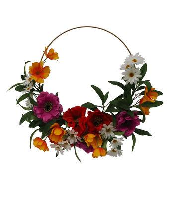 Fresh Picked Spring 12.5'' Wildflower Wreath