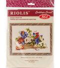 RIOLIS Counted Cross Stitch Kit 11.75\u0022X9.5\u0022-Still Life With Peach
