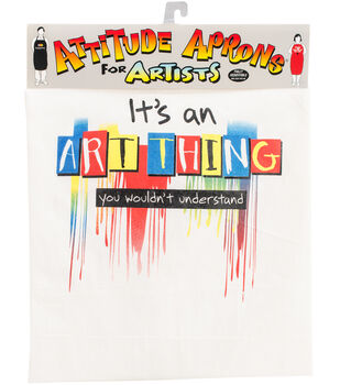 Attitude Artist Apron Natural-Art Thing