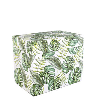 Park Lane Card Storage Box-Tropical
