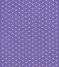 Snuggle Flannel Fabric-White Dots on Paisley Purple