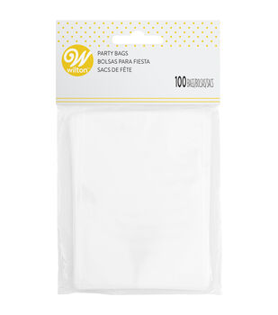 Wilton 100 ct. Treat Bags-Clear
