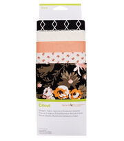 Cricut Designer Fabric Sampler-Apricot Persimmon, , hi-res