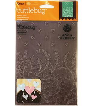 Cricut Cuttlebug Anna Griffin Mondern Vines 5x7 Embossing Folder