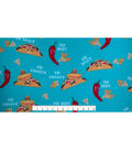 Anti-Pill Fleece Fabric 59\u0027\u0027-So Cheesy Taco