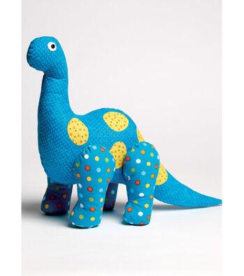 McCall's Pattern M7553 Dinosaur Plush Toys & Appliqued Quilt
