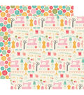 I\u0027d Rather Be Crafting 25 pk Double-Sided Cardstock-Sew Everything