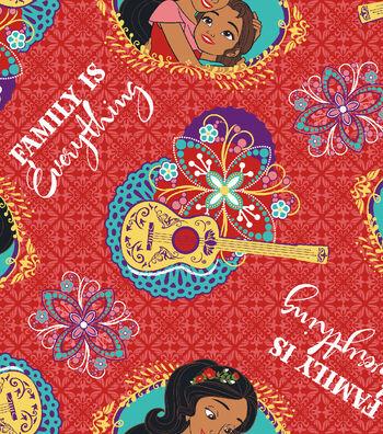 Disney® Elena of Avalor Cotton Fabric 43''-Family Is Everything