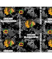 Chicago Blackhawks Fleece Fabric-Digital Camo, , hi-res