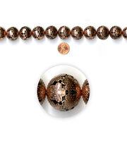 Blue Moon Strung Filigree Metal Beads,Round,Copper,Cutout, , hi-res