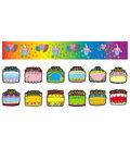 Birthday Cakes Bulletin Board Set, 2 Sets