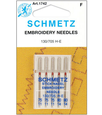Schmetz Embroidery Machine Needles