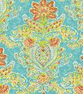 Home Decor 8\u0022x8\u0022 Fabric Swatch-Dena Crystal Vision Capri