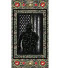 24\u0022 Military Cotton Panel-Marines